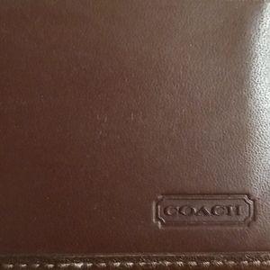 Vintage brown coach wallet